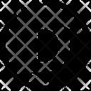 Shadow Black Dot Icon