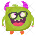 Letter D Monster Icon