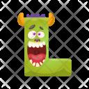 Funny L Animal Icon