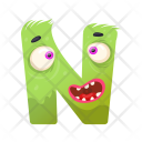 Scared N Monster Icon