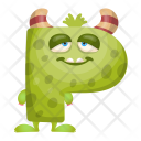 Funky P Monster Icon