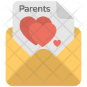 Parent Love Letter Icon