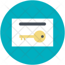 Letterbox Safety Secure Icon