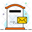 Mailbox Residential Mailbox Letterbox Icon
