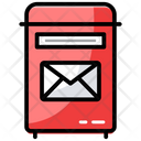 Postal Mailbox Letterbox Icon