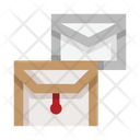 Letters Envelopes Mail Icon