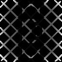 Level Horizon Inclinometer Icon