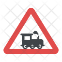 Level Train Crossing Icon