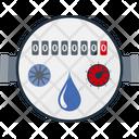Energy Water Indicator Icon