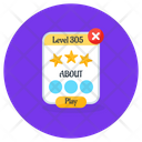 Level Points Game Points Game Ratings Icon