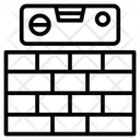 Wall Level Bricks Icon