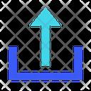 Level Up Upload Arrow Up Icon