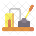 Lever Machine Tool Icon