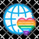 Lgbt World Free Icon
