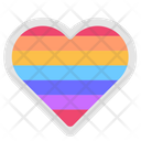 Lgbt Homosexual Rainbow Icon