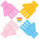 Lgbt Community Social Community Lgbt Connection Icon