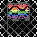 Lgbt Rainbow Flag Icon