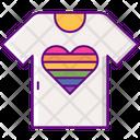 Lgbt T Shirt Icon