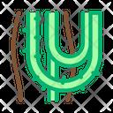 Liana Plant Jungle Icon
