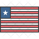 Liberia Liberian African Icon