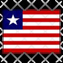 Liberia Flag Flags Icon