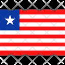 Flag Country Liberia Icon