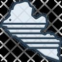 Liberia Map Liberia Country Icon