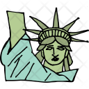 Liberty Statue Freedom Icon