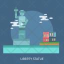 Liberty Statue Landmark Icon