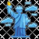 Liberty America Landmark Icon