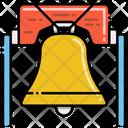 Liberty Bell Pennsylvania Monument Icon