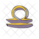 Libra Zodiac Sign Icon