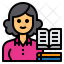 Librarian Avatar Occupation Icon