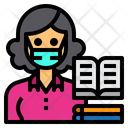 Librarian Library Occupation Icon