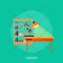 Library Education Science Icon