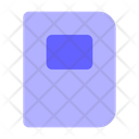 Library Notebook Study Book Icon