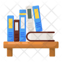 Library Books Education Icon