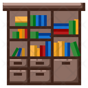 Library Literature School Icon
