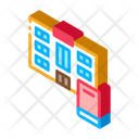 Library Learning Smartphone Icon