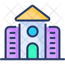 Library Knowledge Study Icon