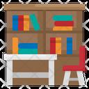 Library Book School Icon