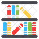 Library Book Education Icon