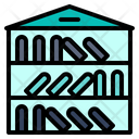 Library Book Learning Icon
