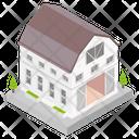 Building Architecture Library Icon