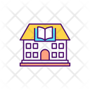 Library Education College Icon