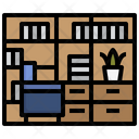 Library Library Room Books Icon