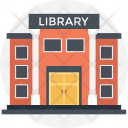 Library Modern Buildings Icon