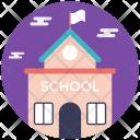 Library School Building Icon