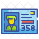 Library Id Card Icon