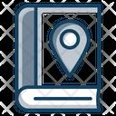 Library Location Address Book Education Locution Icon